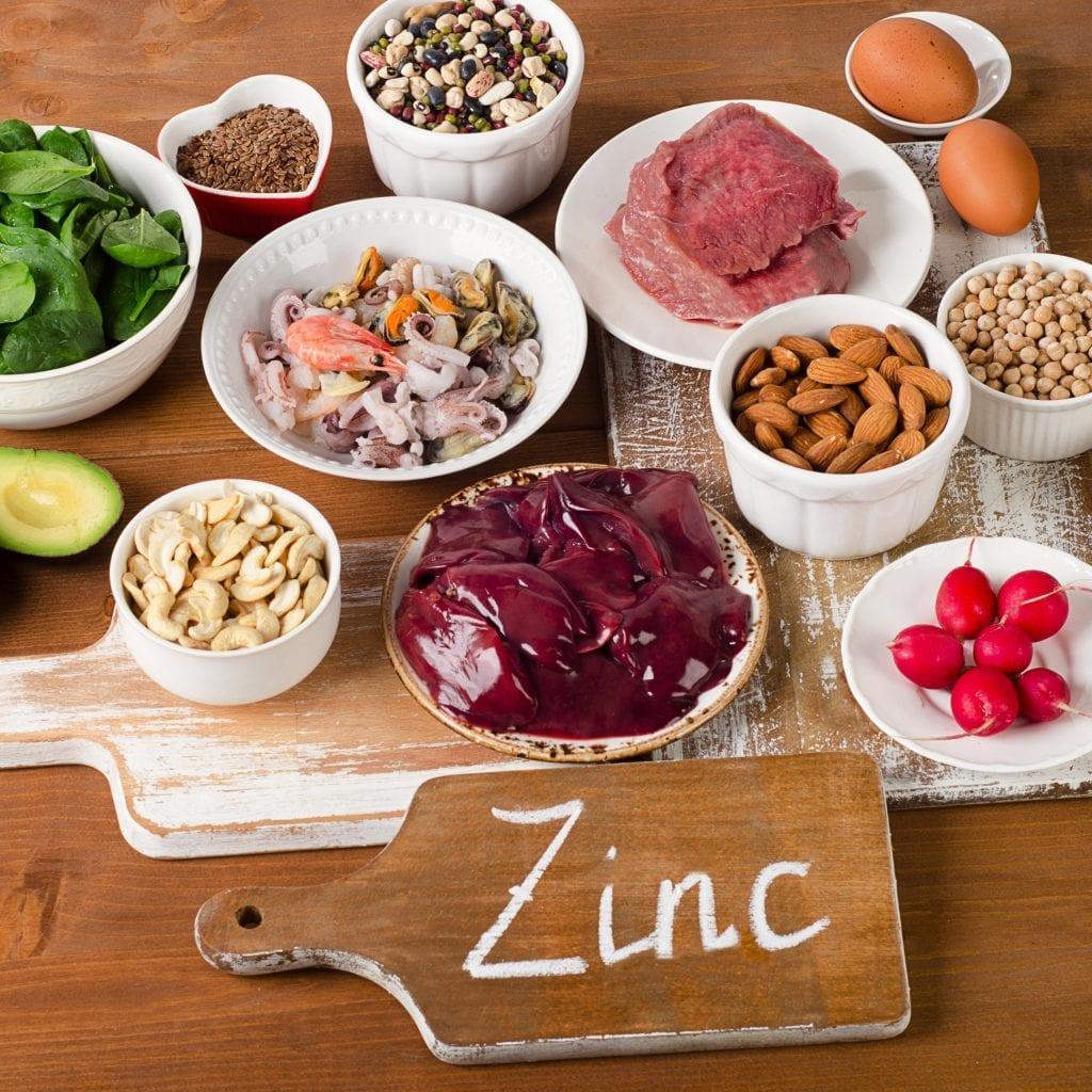 antiviral zinc